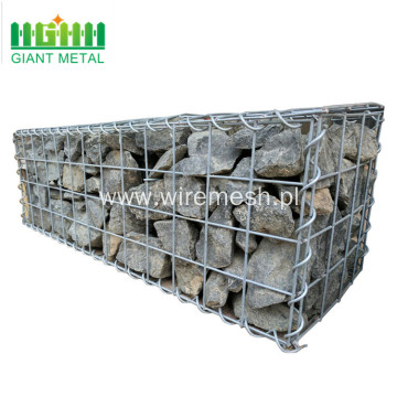 High Quality Galvanized  Welded Gabion Box