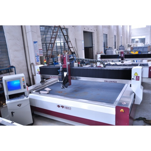High pressure waterjet cutter for cutting hard stone