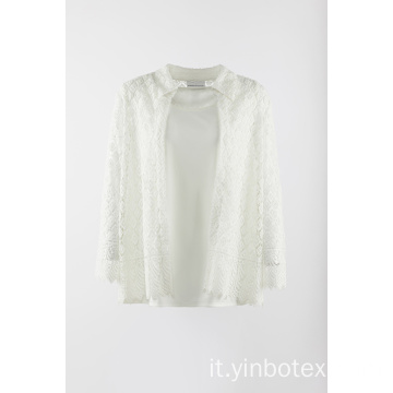 2 fer 1 outer wear in bianco