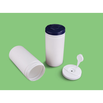 HDPE Plastic Wet Wipe Tissue Canister Container