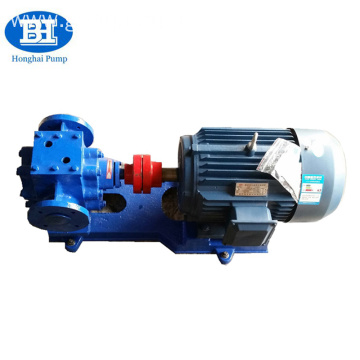 Stainless Steel Insulation Gear Waste Oil Asphalt Pump With Heat Jacket