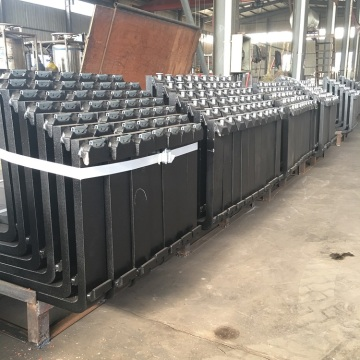 20t loading  free forged container lifter forks