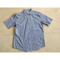 Top Quality Short Sleeve Check Shirt