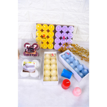 Color Unscented Votive Candles