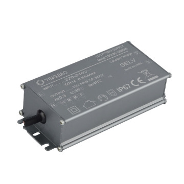 Aluminium Case IP67 Switching Power Supply 12V 6.5A