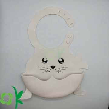 Waterproof Silicone Baby Bib For Girls and Boys