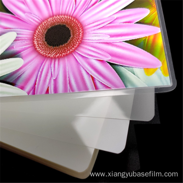 Durable Transparent Photo Card Lamination Base Film