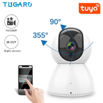 Tuya Wifi PTZ 1080P IP Camera Indoor HD Smart Surveillance Cameras Night Vision Baby Pet Monitor Home Security Camera