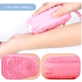 Exfoliating Silicone Scrubber Double-Sided Bath Body Brush