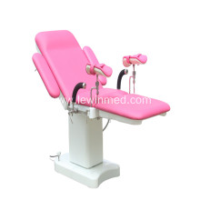 Dual control switch obstetric examination bed