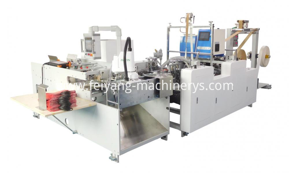 Auto Twisted Handle Pasting Machine 19