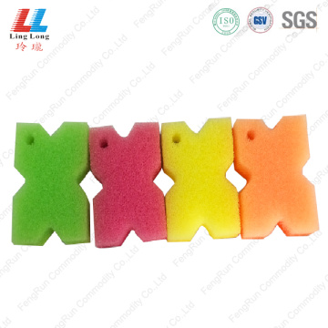 Crafted artificial sponge pad cleaning