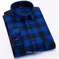 Fashion 100% cotton flannel shirt for men