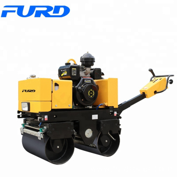 Hand Guided 800kg Sakia Mini Style Vibratory Roller (FYL-800C)