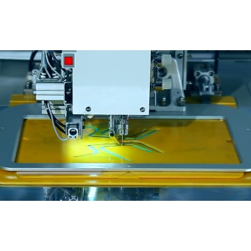 computer sewing machine with automatic sewing
