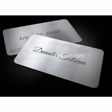 Wholesale Customized Sublimation Blank Metal Business Card