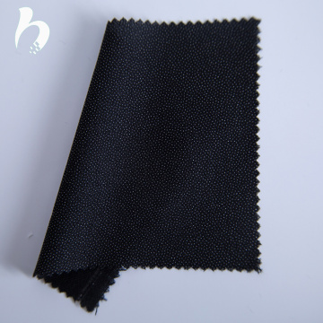 Best quality purple double dot woven fusing interlining