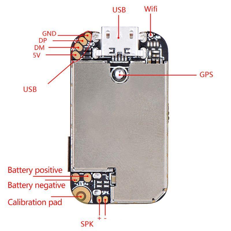 New 1 Pc Super Mini Size GPS Tracker GSM AGPS Wifi LBS Locator Free Web APP Tracking Voice Recorder ZX303 PCBA Inside