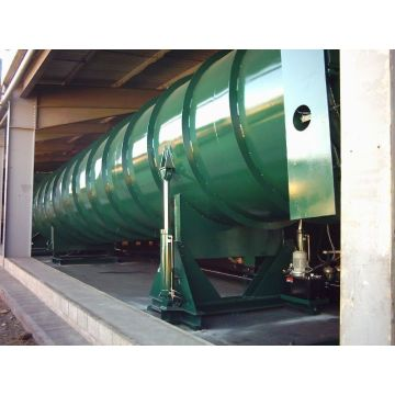 Autoclave for wood impregnation