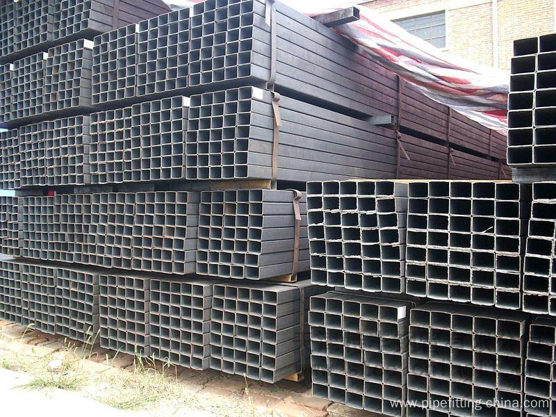 ASTM A106 square section steel pipe  200mm