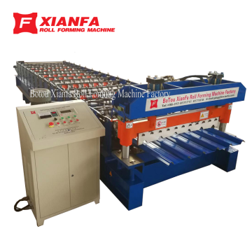 IBR Wall Panel Roll Forming Machine