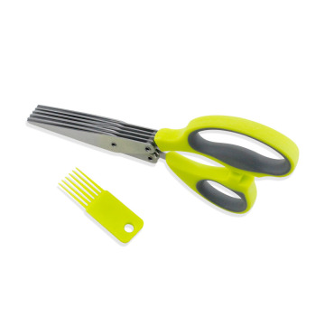 5 Layers Heavy Duty Stainless Steel Kitchen Scissors