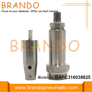 M20 Thread 16.0mm OD Stainless Steel Plunger Armature
