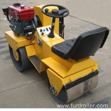 Hydrostatic Walk Behind Double Drum Vibratory Road Roller  FYL-850S