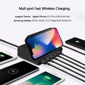 Type-C /Multi USB Wireless Fast Charger for iPhone