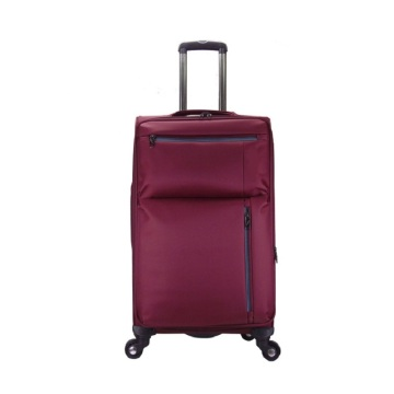 Wholesale hot sale nylon suitcase trolley travel bags