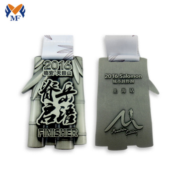 Custom Made Marathon Finisher Medals
