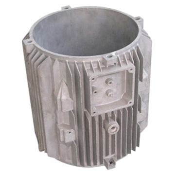 Aluminum Die Casting Shell Parts for Motors