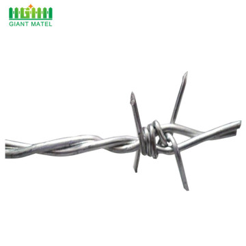 High tensile galvanized barbed wire for sale