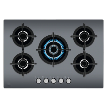 Electrolux Kitchen Hob Gray Glass 5 Rings