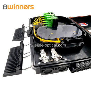 Ftth Outdoor 16 Port Abs 1X16 Plc Splitter Fiber Optic Terminal Box