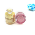 OEM/ODM high quality double-layer DIAMOND shape acrylic cosmetic jars with good price