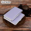 Multi Colors Leather Case for Carry 14 & 20 Cigarettes Classic Cigarette Box Men & Women Cigarette Case Smoking Pouch