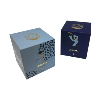 Customized Fancy Christmas Gift Cardboard Box With Lid