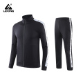 Men's Side Stripe Zipper Tracksuit