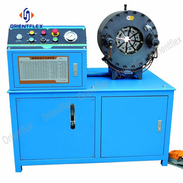 4 inch hydraulic hoses processing machine HT-91D