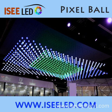 Addressable DMX RGB LED Hanging Ball Garden Light