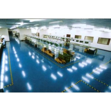 Chemical plant anti-corrosion brine epoxy floor