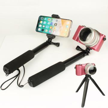 Camera Extendable Aluminum Alloy Selfie Stick Tripod Phone Holder Set for Samsung Note 9 8 s10 Plus Lite iPhone 11 7 XS Max XR