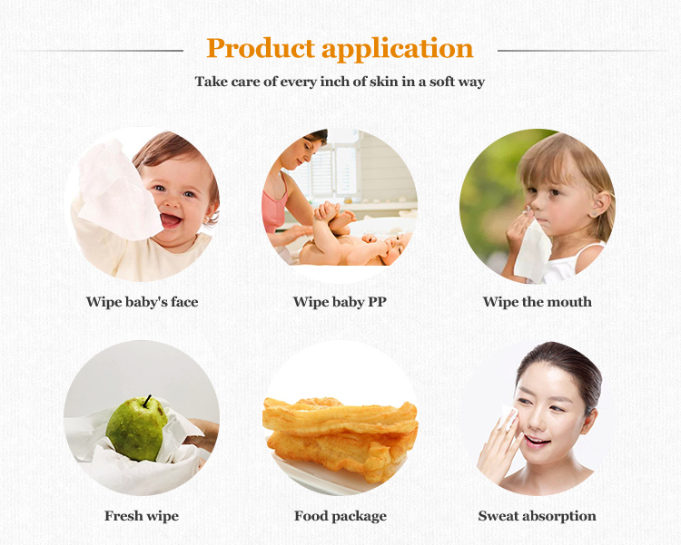 Facial Tissue Product Application