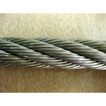 316 stainless steel wire rope 1x19 6.0mm