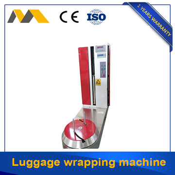 Widely use stretch film wrapping machine for luggage