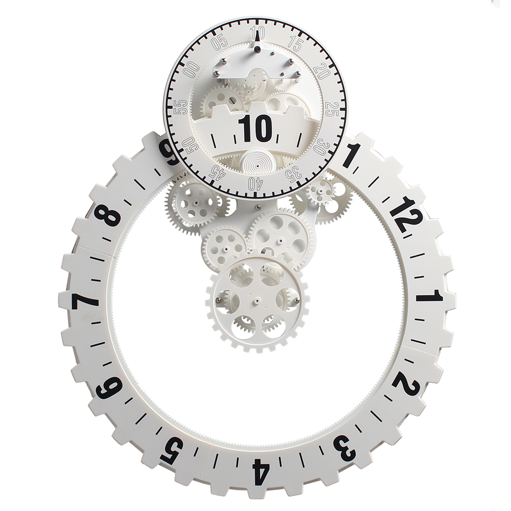 white mantelpiece clocks