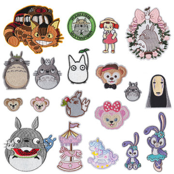 Animal Embroidery Patches Child Clothing Accessories