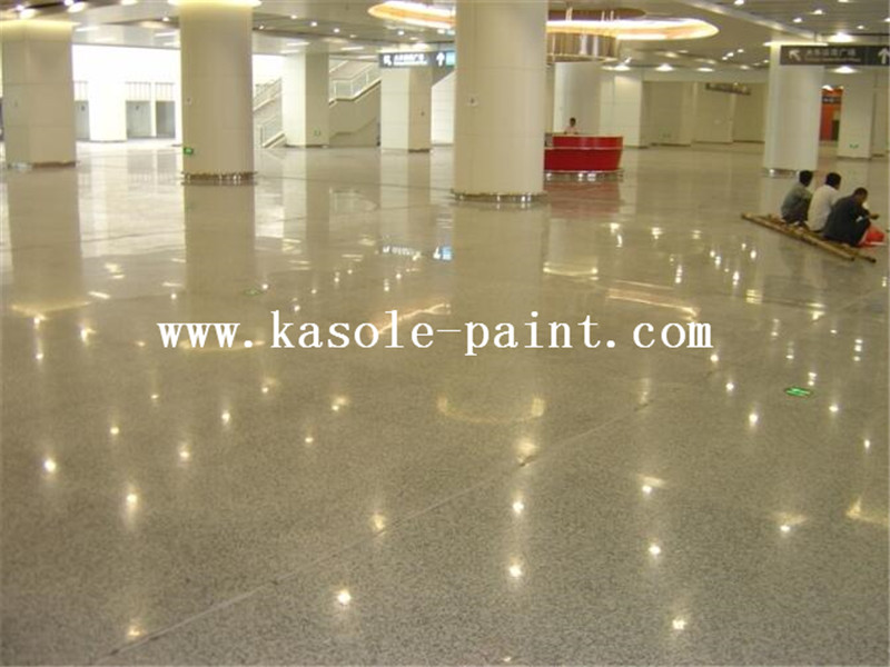 Sealed concrete curing agent