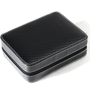 custom carbon fiber leather watch gift box